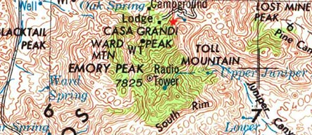 Emory Peak TX 1959 USGS Survey