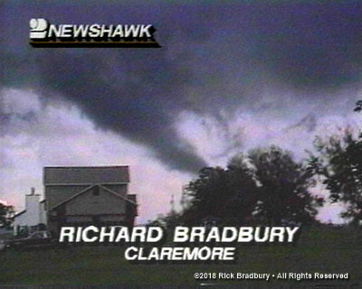 Sometimes Chasing Rainbows, you Catch Tornadoes